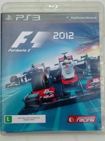 Fórmula 1 2012 - Mídia Física Original Para Ps3 Usado