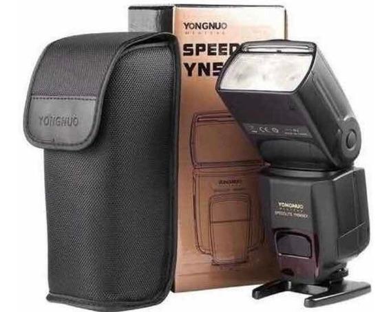 Flash Speedlite Yongnuo Yn565ex Ttl Para Nikon + Nota Fiscal