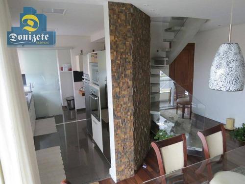 Cobertura Com 3 Dormitórios À Venda, 144 M² Por R$ 710.000,00 - Jardim Bela Vista - Santo André/sp - Co1067