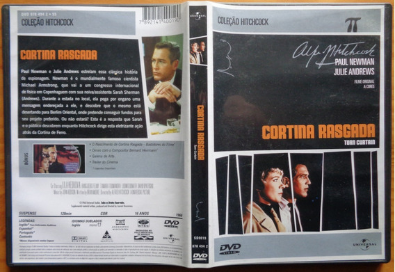 Alfred Hitchcock Dvd Original Nac Usado Cortina Rasgada