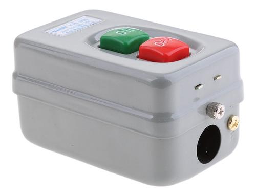 Imagen 1 de 5 de Interruptor De Botón Eléctrico 3p Bloqueo De Encendido /