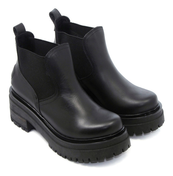 Botineta Botita Zapato Mujer Eco Cuero Clasico Savage