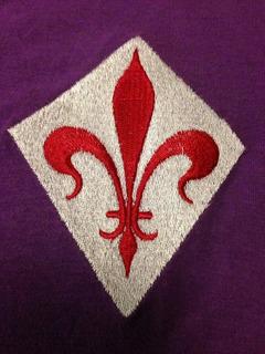 Camisa Fiorentina Retro Tam Gg (68x58) Liga Retro