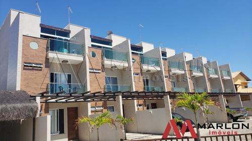 Vcp00466 Casa Triplex  Solarium, 3/4 Sendo 2 Suites, Permuta