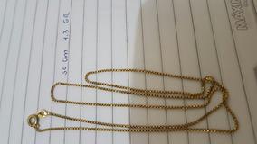 Corrente Ouro 18.k 4.3 Gramas