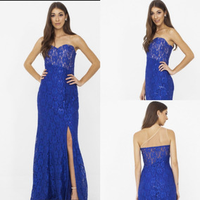 329468ddc4 Vestido Azul Royal Tomara Caia Longo - Vestidos Longos Femininas no ...