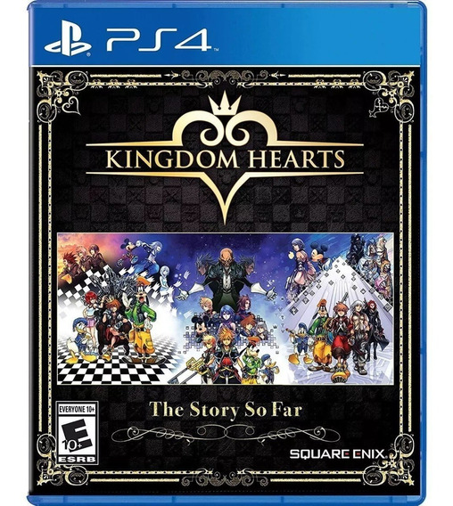 Kingdom Hearts The Story So Far Ps4 Mídia Física 1.5 + 2.8