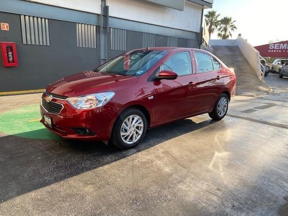 Chevrolet Aveo Lt Tm 2020 Rojo Cereza