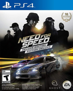 Need For Speed Deluxe Edition ~ Ps4 Digital Español
