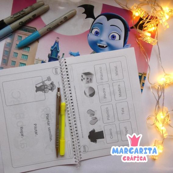 Cuadernos De Actividades Didactico Colegio Niños Imprimir