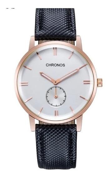 Relógio Masculino Chronos Lindo 100% Quality