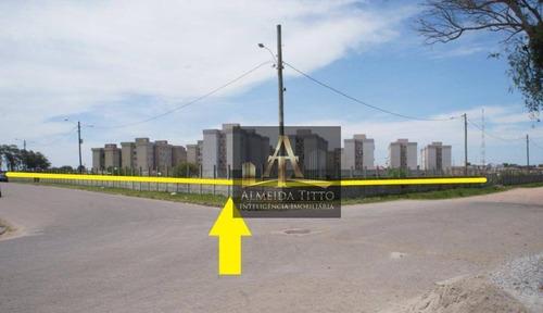 Área À Venda Com 24.630 M² Em Frente Ao Estacionamento Do Praça Rio Shopping Center  Confira! - Ar0074
