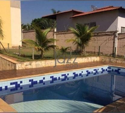 Chácara Com 3 Dormitórios À Venda, 1000 M² Por R$ 1.590.000,00 - Parque Da Represa - Paulínia/sp - Ch0552