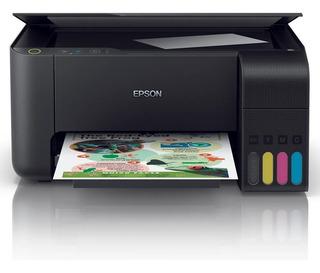Multifuncion Epson L3110 Con Sistema Continuo