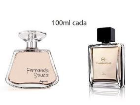 Combo Perfume Fernanda Souza E Thiaguinho Masculino 100ml