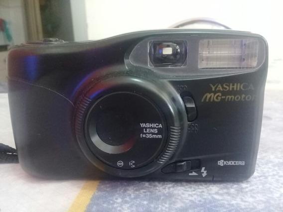 Máquina Fotográfica (yashica Mg-motor)