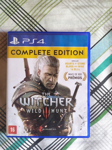 Jogo Playstation 4 The Witcher 3 Complete Edition