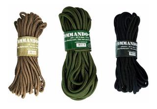 Cuerda Táctica Commando Mil-tec 15 Mts Varios Colores