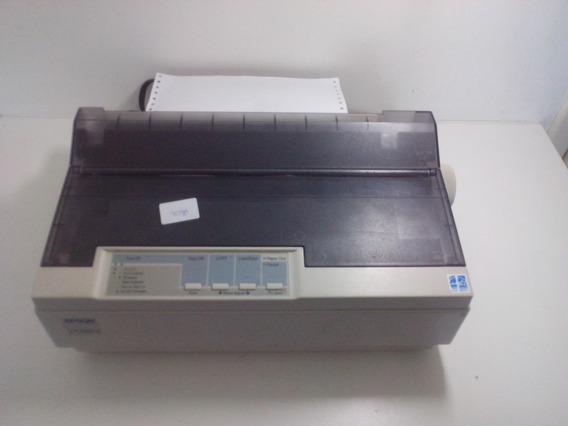 Impressora Matricial Usb Epson Lx-300+ Ii 120v