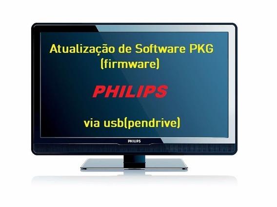 Atualização Philips 40pfg5100 Pkg Via Pen Drive