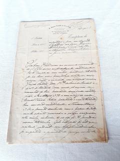 Escritura Empréstimo Hipoteca 1923 Selo Fiscal