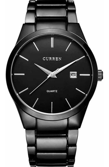 Reloj Curren Para Hombre Diseño Ejecutivo Exclusivo