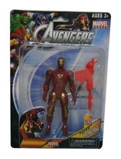 Juguetes Muñecos Avengers Con Accesorios