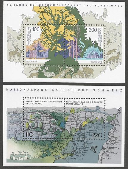Alemania 1997 Bloques Parque Nacional Sociedad Protector 032