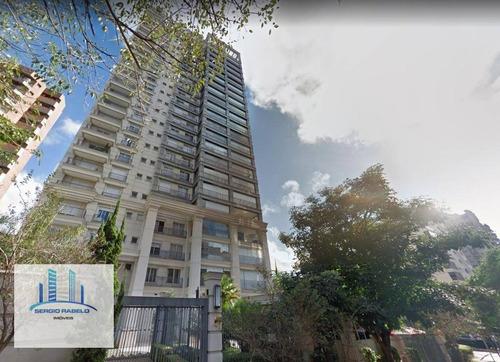 Imagem 1 de 14 de Apartamento Residencial Com 4 Suítes À Venda Na Avenida Juriti-  Moema, São Paulo/sp - Ap1243