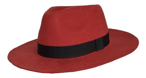 Sombrero Australiano Fieltro Compañia De Sombreros 944000