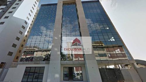 Sala, 36 M² - Venda Por R$ 215.000,00 Ou Aluguel Por R$ 1.250,00/mês - Jardim Aquarius - São José Dos Campos/sp - Sa0301