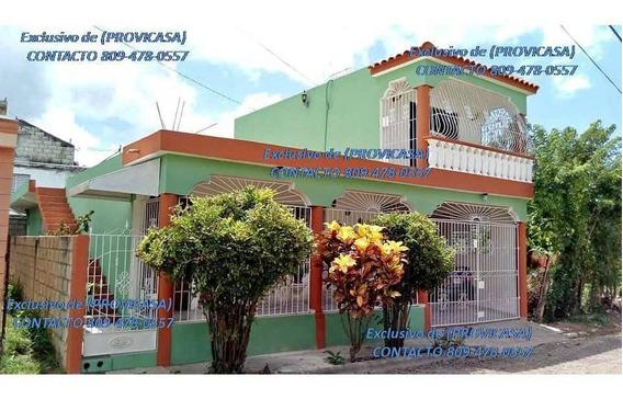 Vendo Casa En Residencial Naime 1ra Et De Tres Habitaciones