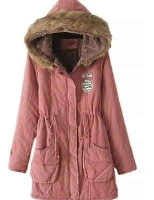Parka Army Con Capucha Talle Xl Real