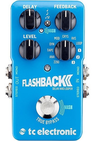Pedal Guitarra Tc Electronic Flashback 2 Delay Looper