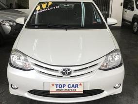 Toyota Etios X 1.3 2017 - Sem Entrada