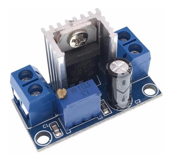 4x Modulo Regulador Tensão Ajustável Step Down Lm317 - 0298