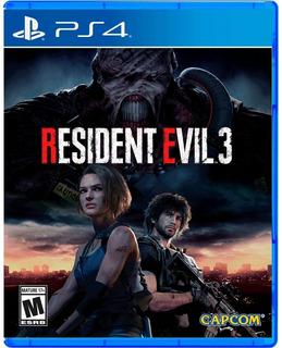 Ps4 Resident Evil 3 - Nuevo - Sellado - Usa