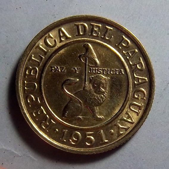 Paraguay 50 Céntimos 1951 Exc Km 24