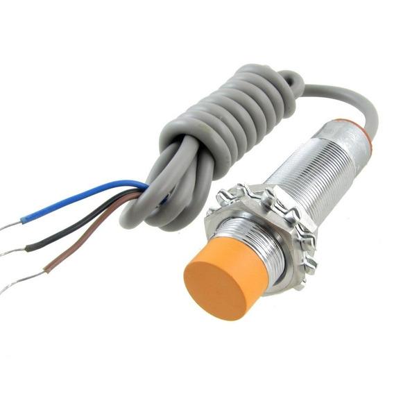 Sensor Indutivo Npn 8mm Lj18a3-8-z/bx Pic Arduino Automação