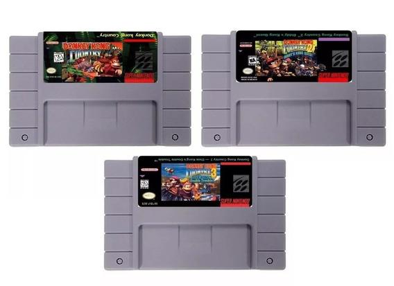 Trilogia Donkey Kong Country Snes Super Nintendo