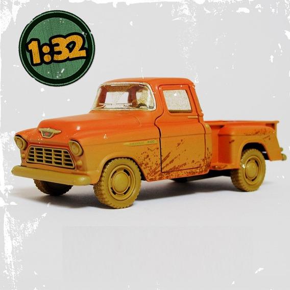 Auto Chevy 1955 Pick Up Muddy 1/32 (no Envios)