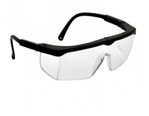 Óculos Proteção Incolor Regulavel Rj Caixa Com 40 Unidades