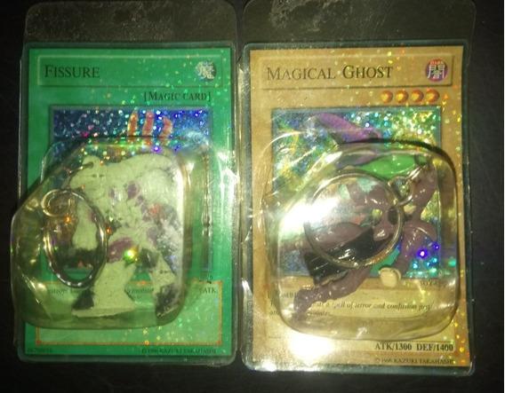 2 Cartas Yu Gi Ho Con 2 Personajes 1996 Konami En Su Package