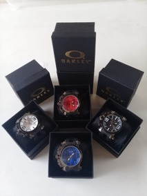 Relogio Masculino Oakley Gearbox Titanium + Caixa Brinde
