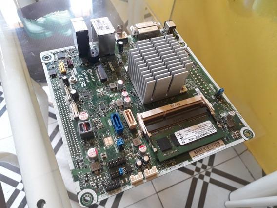 Placa Mãe Hp Ipxbsw-gs Intel Celeron + 4 Gigas De Ram Ddr3