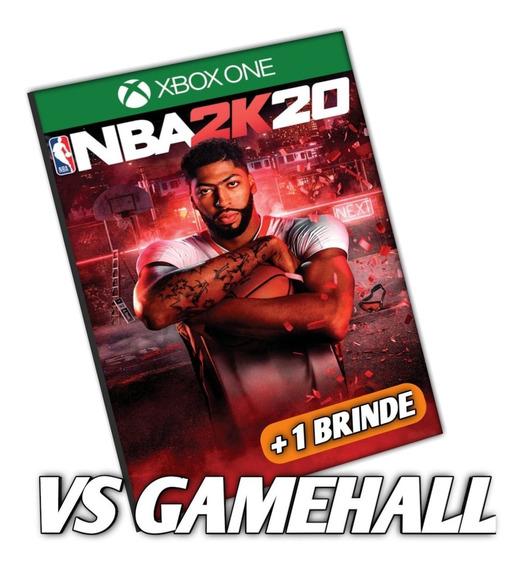 Nba 2k20 Xbox One Midia Digital Nba2k20 2020 + Brinde