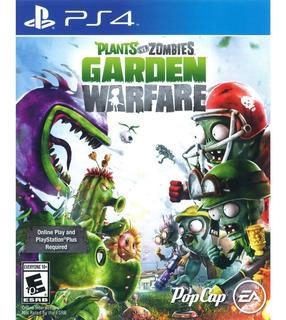 Plants Vs Zombies Garden Warfare -ps4-juego Fisico-megagames