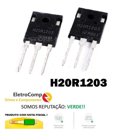 Transistor Igbt H20r1203 Novo Original Envio Imediato