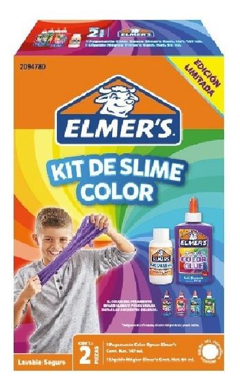 Kit De Slime Color Kits De Regalo Niños Niñas Elmer