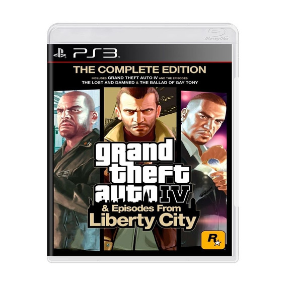 Gta Iv Complete Edition + Episodes From Liberty City Ps3